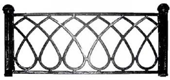 Ограда Капля малая