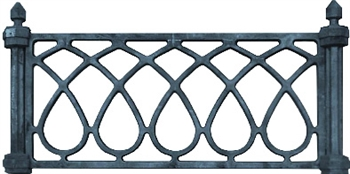 Ограда «Капелька»