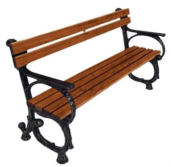 Чугунная скамейка «Альфа-Люкс»