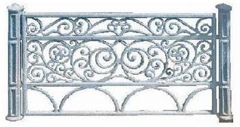 Ограда «Декоративная»