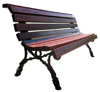 Чугунная скамейка «Универсальная»