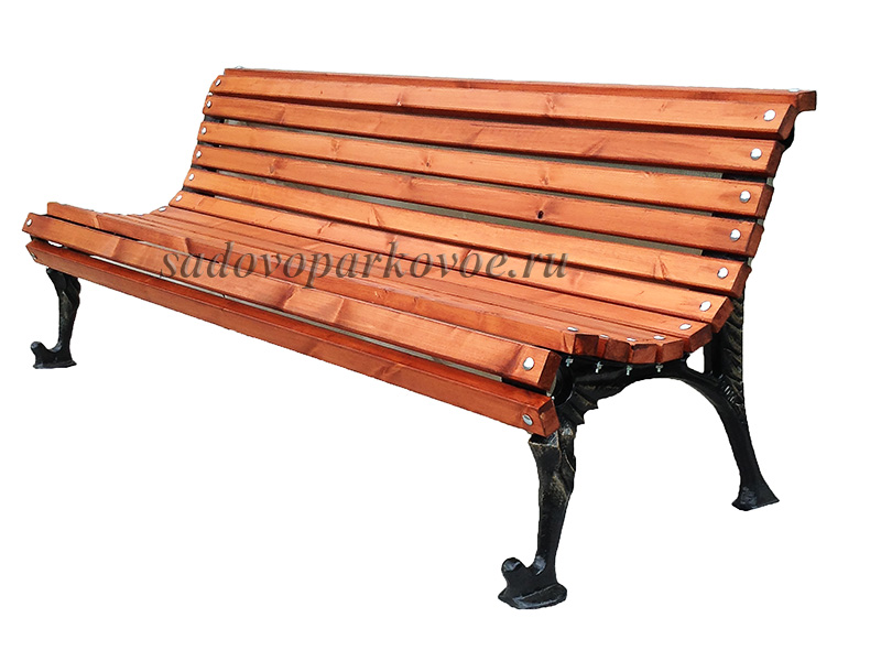 Скамейка чугунная «Исток»
