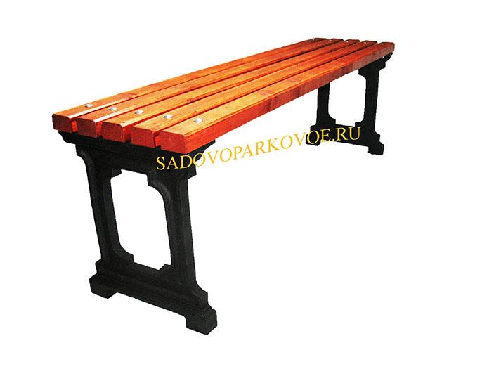 Чугунная скамейка «Ладья»