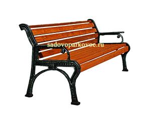 """Чугунная скамейка """"Ретро"""""""