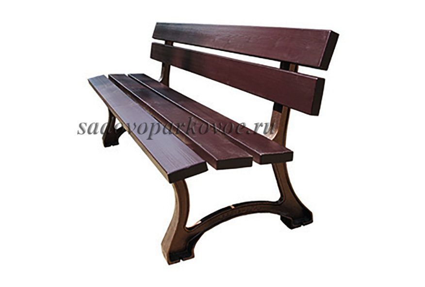 "Чугунная скамейка ""Барселона"""