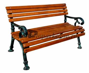 Чугунная скамейка «Ностальжи»